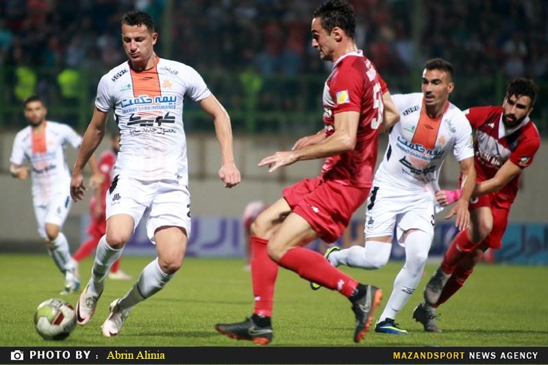 تصاویر دیدار نساجی مازندران و سایپا در لیگ برتر فوتبال کشور