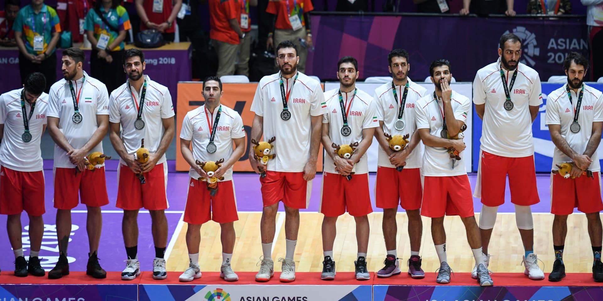 تیم ملی بسکتبال ایران نایب قهرمان بازی های آسیایی شد
