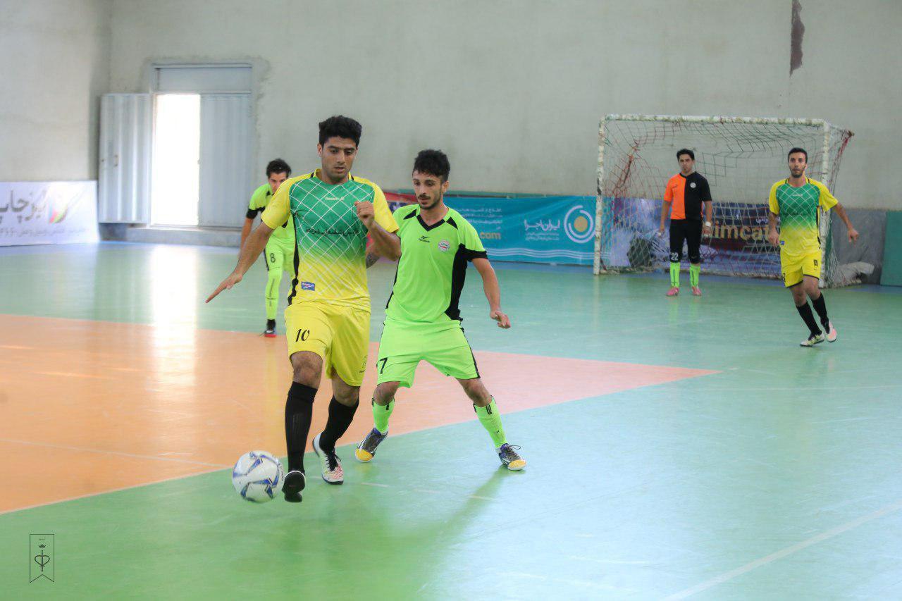 هفته دوم رقابت های لیگ برتر فوتسال استان مازندران/برتری آریو ساری مقابل سرخکلای زیراب