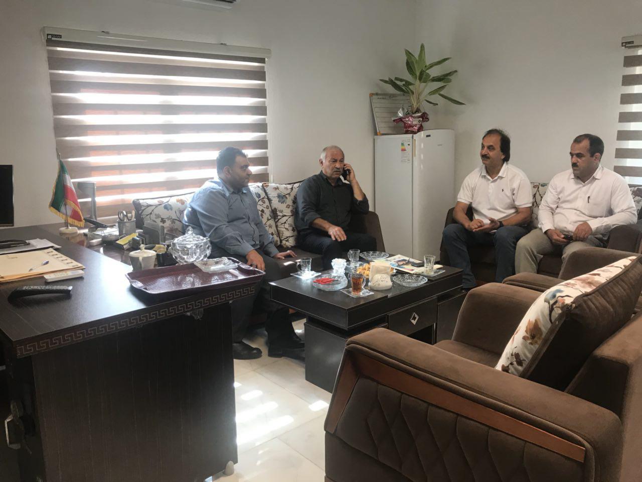 مقدمات برگزاری رقابت های کشتی جوانان مازندران در بهنمیر