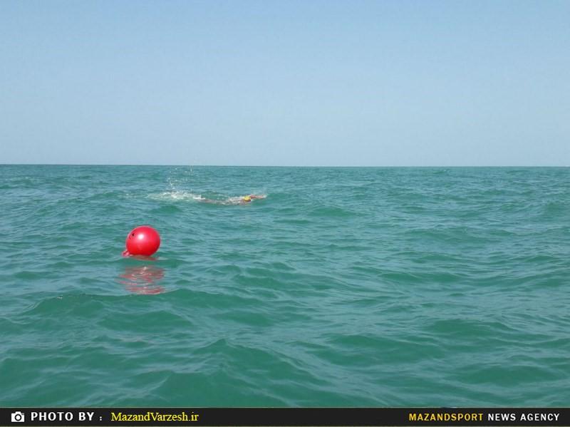 لیگ شنای آبهای آزاد با معرفی تیم های برتر پایان یافت + تصاویر