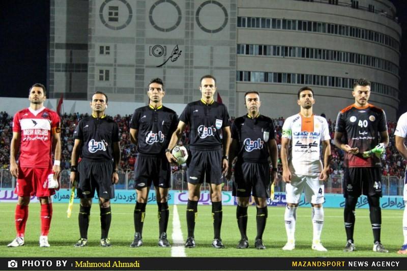 تصاویری از حواشی دیدار نساجی مازندران و سایپا در لیگ برتر فوتبال کشور