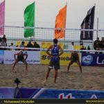 تصاویر روز دوم تورجهانی تک ستاره والیبال ساحلی در بابلسر