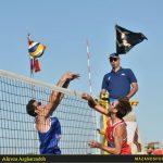 تصاویری از آغاز مسابقات تور جهانی تک ستاره والیبال ساحلی بابلسر