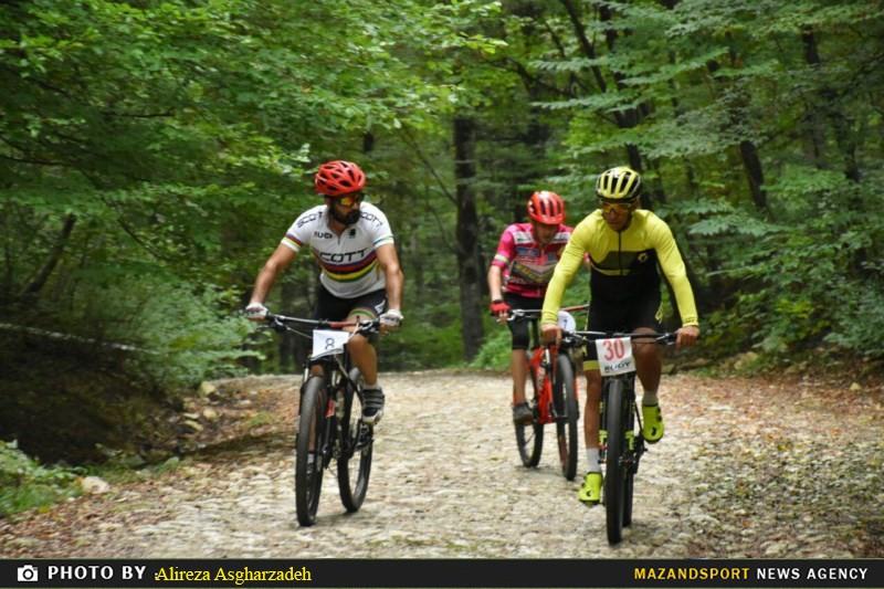 تصاویری جذاب از مسابقات دوچرخه سواری کراس کانتری در بهشهر