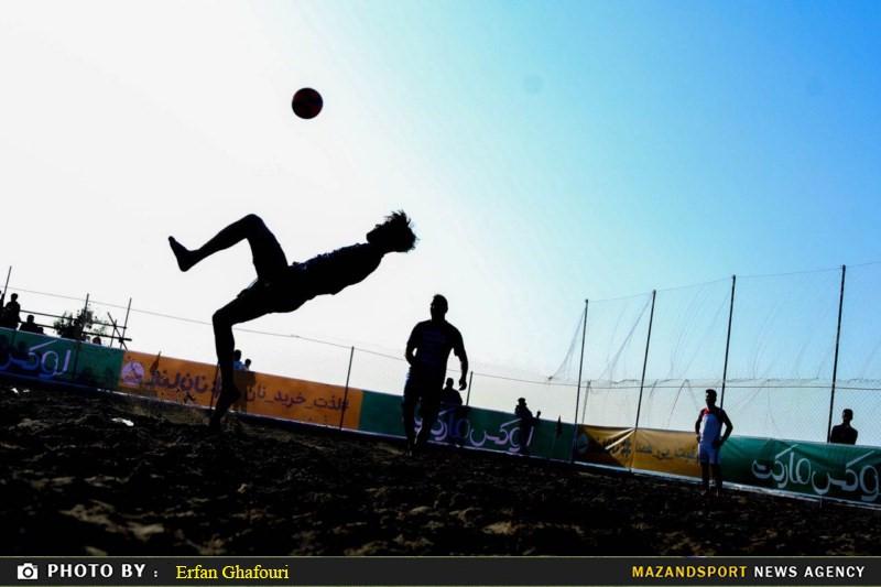 صعود هر دو نماینده مازندران به مرحله دوم زیر گروه فوتبال ساحلی کشور