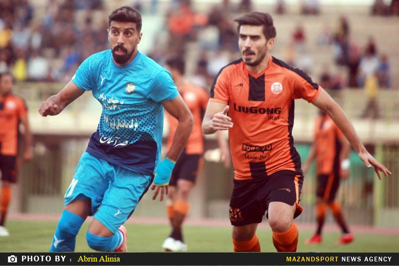 تصاویر دیدار مس کرمان و خونه به خونه مازندران در لیگ یک فوتبال کشور