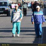 تصاویری از پیاده روی خانوادگی بمناسبت هفته تربیت بدنی در قائم شهر