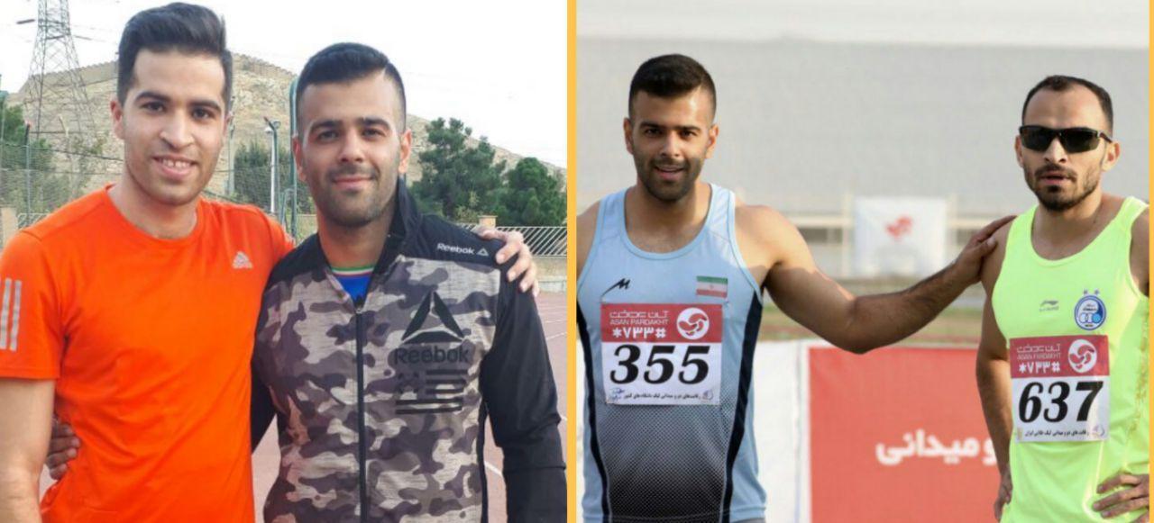 شگفتی در دوی ۱۰۰ متر دوومیدانی ایران/مهران پسر باد مازندران همه را جا گذاشت