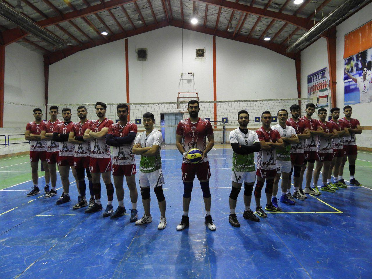 اوج هیجان والیبال لیگ دسته یک مردان ایران در نکا