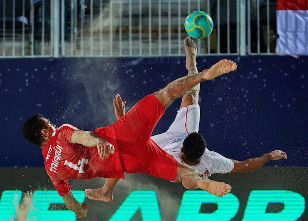 عکسهای دیدنی از بازی ایران – تاهیتی