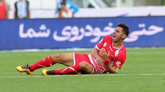 تلاش عالیشاه برای بازی مقابل کاشیما (عکس)  !