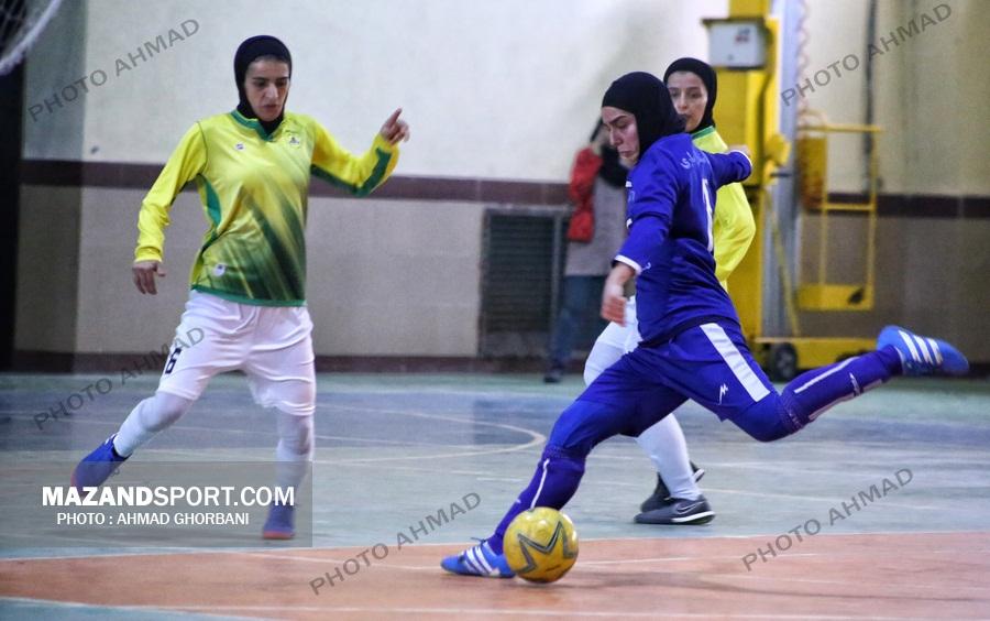 دختران آبی پوش ساروی با باخت تمام کردند/ قعر نشینی پایان کار استقلال ساری !