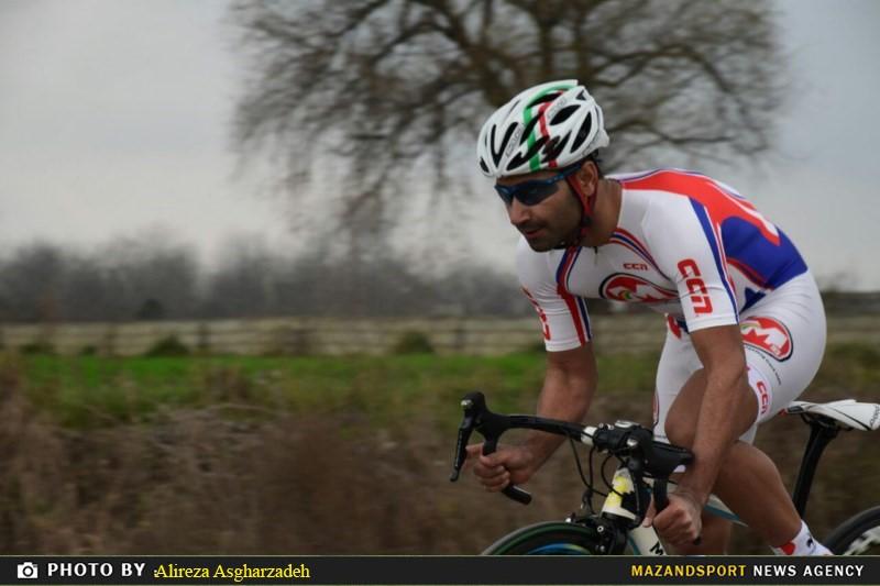 تصاویری از برگزاری سیزدهمین دوره از لیگ دوچرخه سواری استان مازندران در آمل