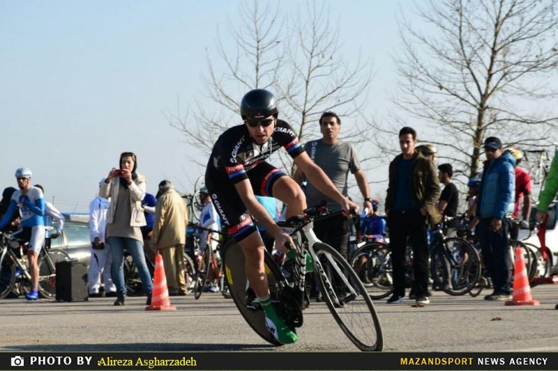گزارش تصویری مسابقات انتخابی تیم ملی دوچرخه سواری پیشکسوتان تایم تریل انفرادی