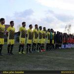 گزارش تصویری دیدار زرندین نکا و اتحاد دارابکلا در جام کاسپین