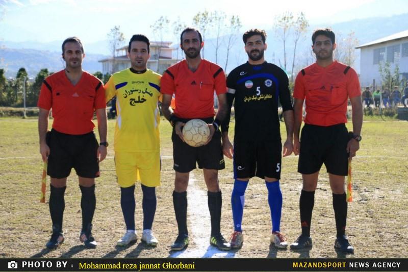 دیدار شهروند رامسر و آمارد آمل در لیگ برتر فوتبال استان مازندران جام کاسپین