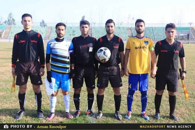 تصاویر دیدار تیم های ملوان ساری و تکنیک نور در لیگ امید های کشور