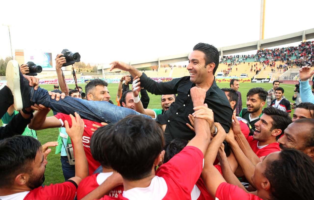 جواد نکونام هدایت تیم فولاد خوزستان را بر عهده گرفت و جانشین قطبی شد+عکس