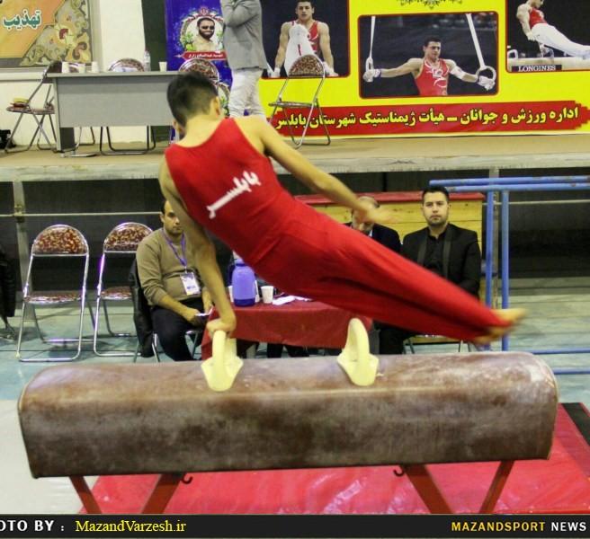 تیم های ژیمناستیک اتحاد بابلسر و لاله نکا قهرمان شدند + تصاویر