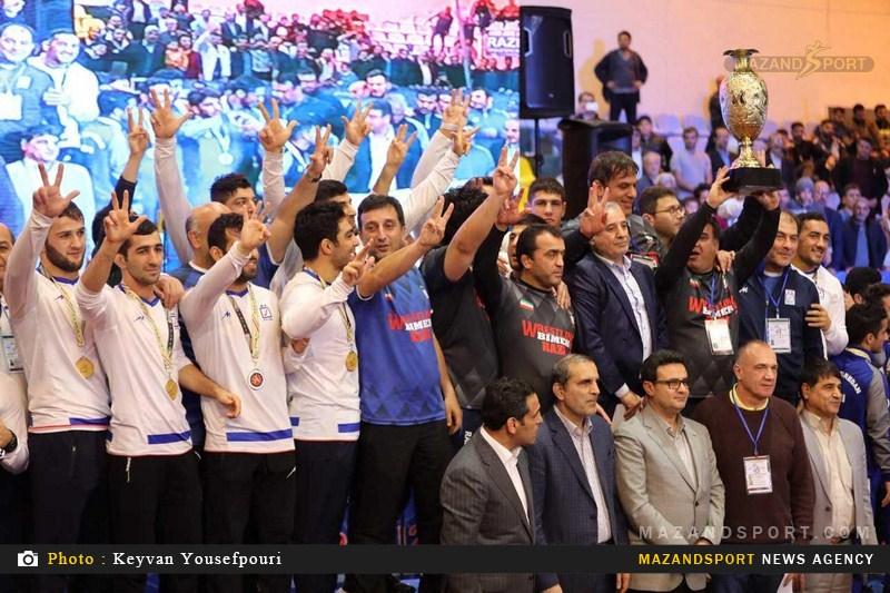 گزارش تصویری روز پایانی رقابتهای کشتی آزاد جام باشگاههای جهان در بابل