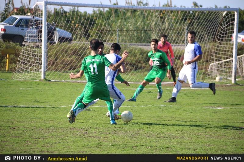 تصاویر پیروزی شهدامقاومت جویبار مقابل کتالم در هفته نوزدهم لیگ برتر فوتبال مازندران