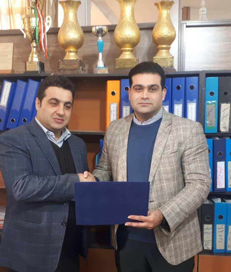 امیرخانلو مشاور هیات انجمن های ورزشی استان مازندران شد + عکس