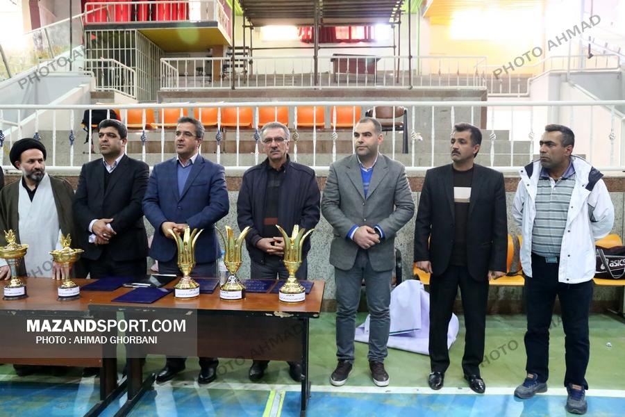 اختتامیه  مسابقات ورزشی کارکنان دولت  استان مازندران در ساری