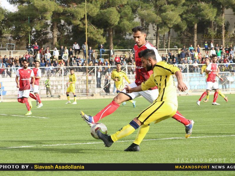 هفته بیستم لیگ یک فوتبال / خونه به خونه و فجر شهید سپاسی شیراز