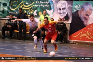 هفته بیست و پنجم لیگ برتر فوتسال/ پیروزی شهروند مقابل ستارگان ورامین