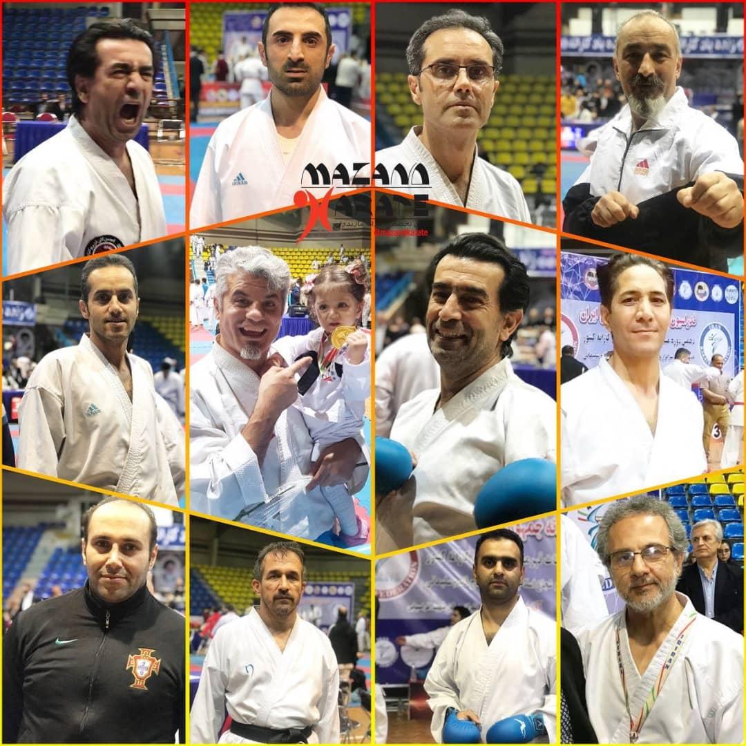 قهرمانان رقابتهای کاراته پیشکسوتان معرفى شدند/مازندران ۵ طلا ۳ نقره و ۸ برنز