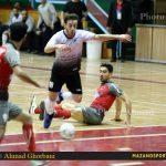 هفته بیست وششم لیگ برتر فوتسال باشگاههای کشور / شکست نزدیک شهروند مقابل سوهان محمدسیما قم