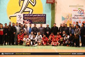 تصاویر مسابقات فوتسال جام فجر کارکنان سازمان مدیریت پسماند شهرداری ساری