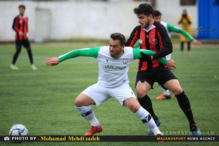 لیگ دسته سوم کشور / تصاویر دیدار جوان نوین ساری و  نگین سناباد مشهد