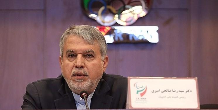 صالحی امیری: توزیع بودجه با سالهای قبل متفاوت است/ المپیکی ها یک سال حقوق می گیرند