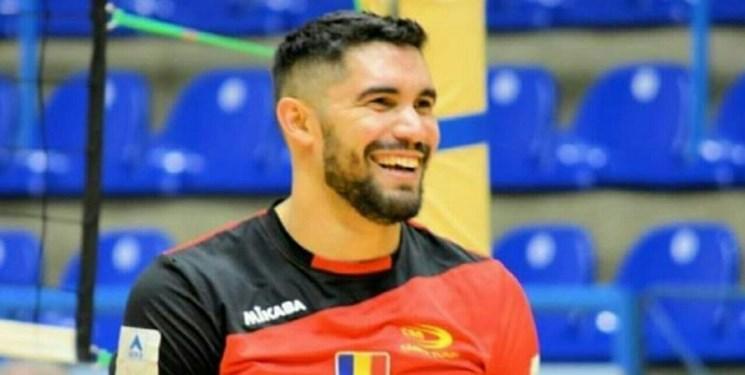 بازیکن خارجی تیم والیبال هورسان وارد ایران شد