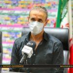 گلمحمدی: مقابل نساجی مثل قهرمان بازی کردیم/قائمشهر یک هتل خوب ندارد
