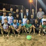 باشگاه موجسواران نوشهر: عدالت و انصاف در نیمه نهایی لیگ برتر فوتبال ساحلی رعایت نشد