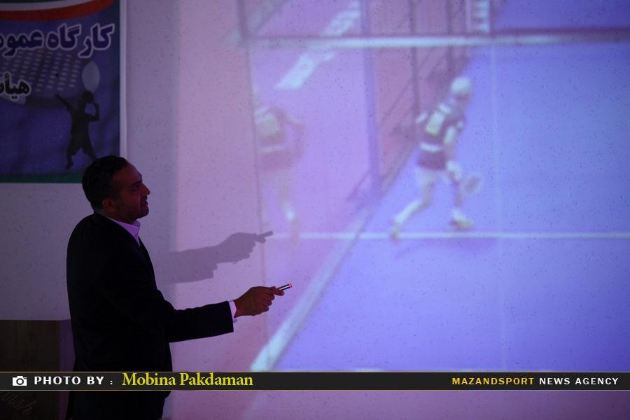 اولين کارگاه عمومي آشنايي با رشته ورزشي پدل به همت هيات اسکواش استان مازندران برگزار گرديد