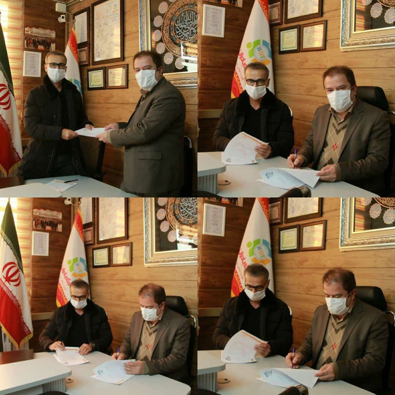 بعد از ترک نوشهر ؛ محسن عاشوری سرمربی بادران تهران شد (عکس)