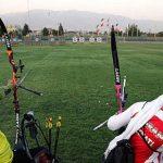 برگزاری اردوی دو هفتهای تیم ملی پاراتیروکمان در جزیره کیش / بیابانی تنها مازنی اردو