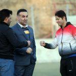 گزارش تصویری تمرینات تیم فوتبال صدرای نکا با حضور صدرالدین بامتی
