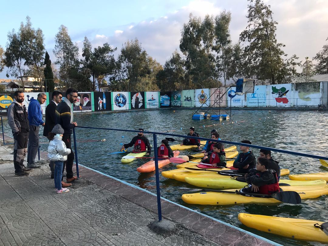 بازدید حسین سینکایی از باشگاه کانوپولو شهید رسولی نوشهر + عکس
