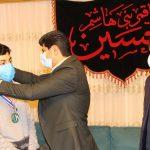 قهرمان جهان مدالش را به خانواده شهید مدافع حرم اهدا کرد + تصاویر و فیلم