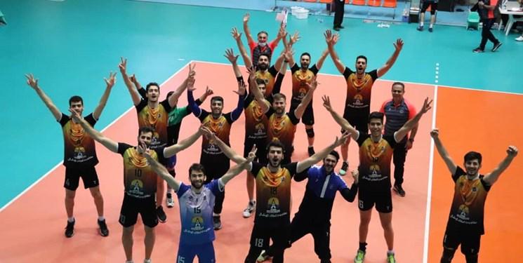 صعود تیم والیبال ایرانشید چالوس به لیگ برتر