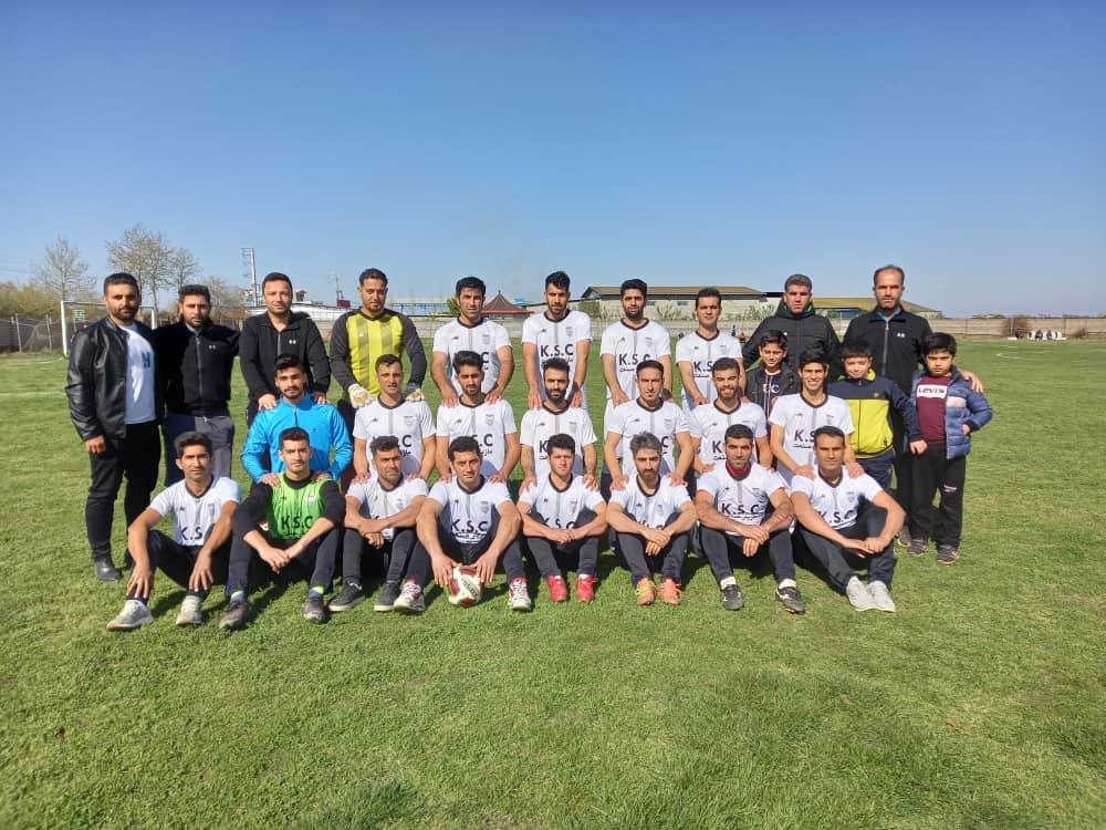 کیان سام بهنمیر قهرمان زودهنگام نیم فصل لیگ برتر مازندران
