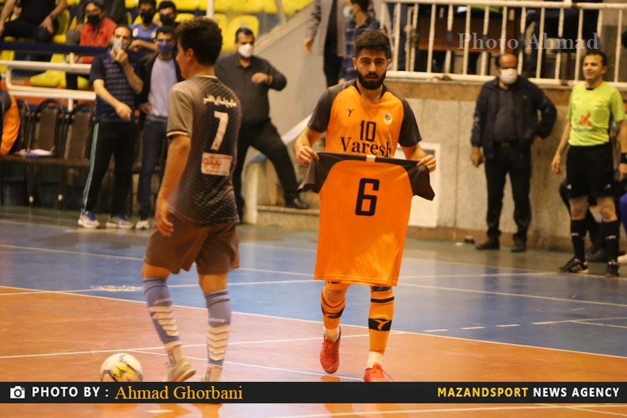 برتری ۶ گله شهروند ساری مقابل ایمان شیراز  / عکاس :احمد قربانی