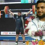 رضا حسنپور نایب قهرمان وزنهبرداری جوانان جهان شد